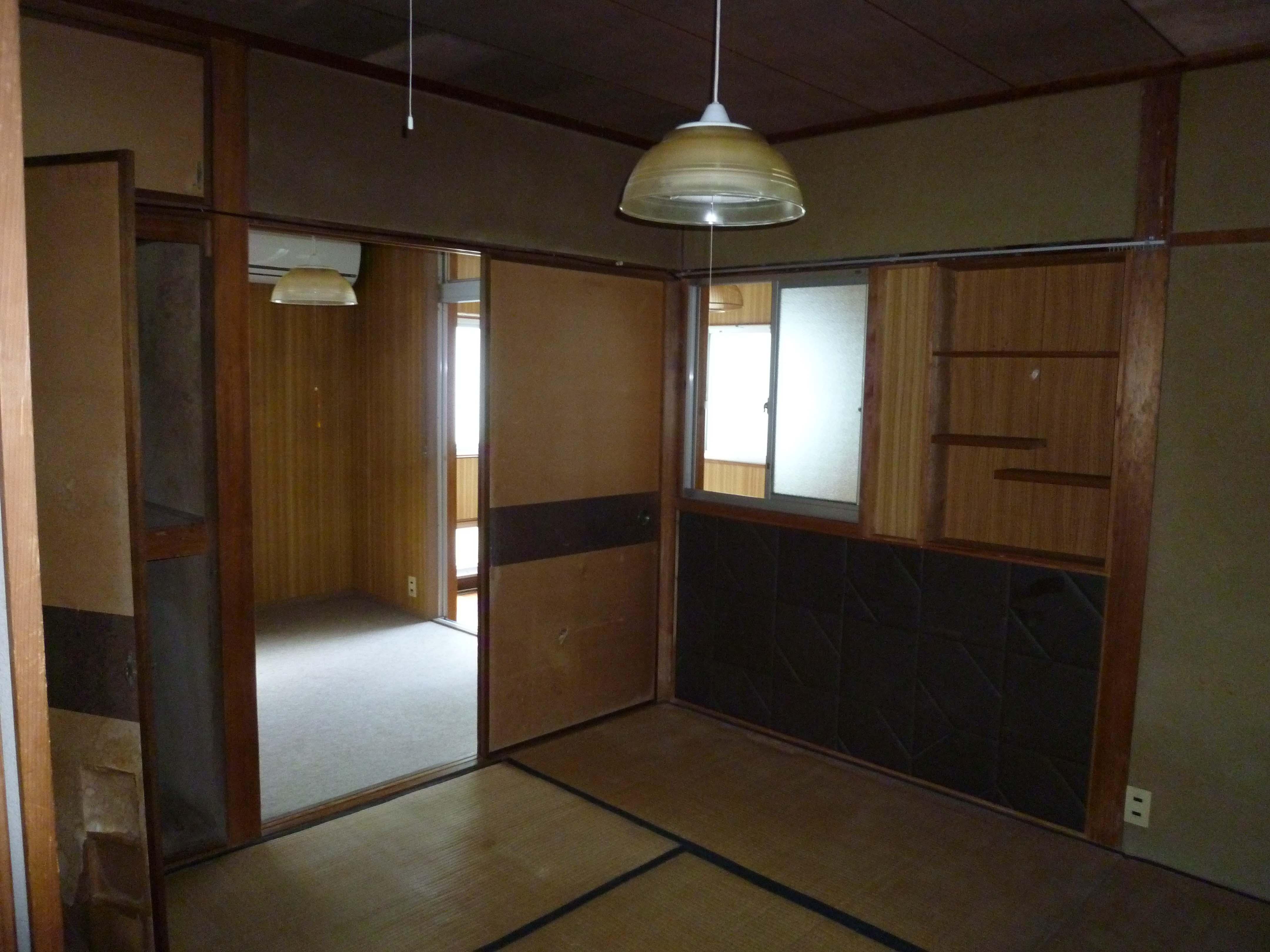 【西脇市リフォーム】中古住宅全面リフォーム施工前