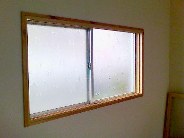 【篠山市リフォーム】内窓(プラマードU)取り付け施工前