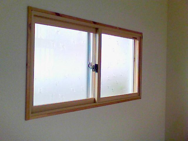 【篠山市リフォーム】内窓(プラマードU)取り付け施工後