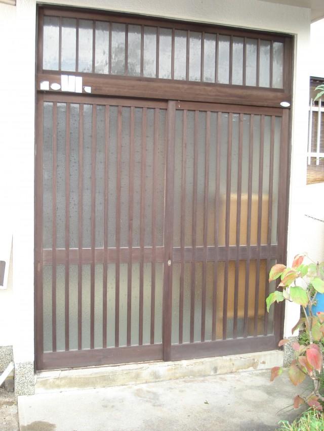【加東市リフォーム】玄関リフォーム施工前