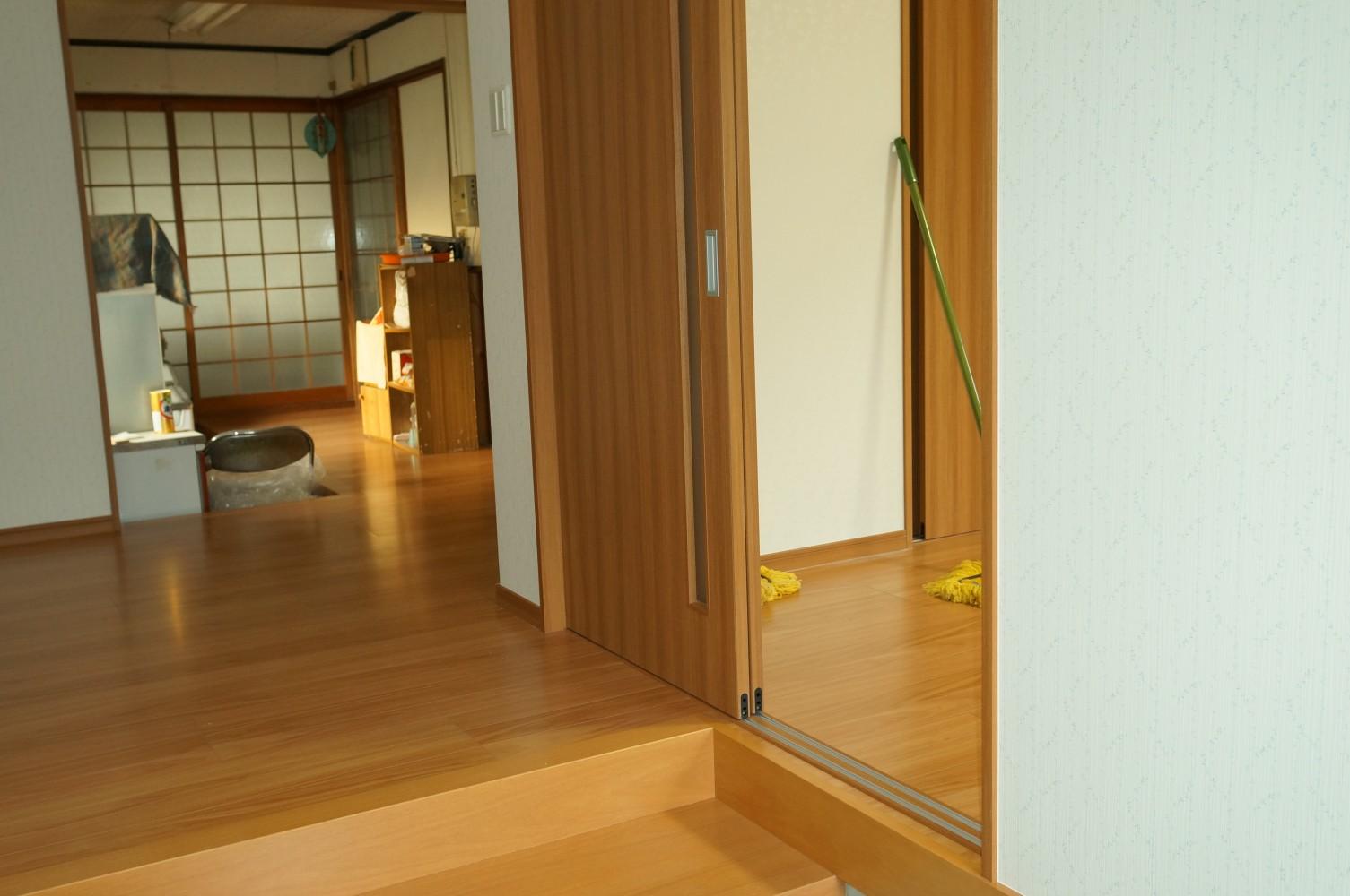 【西脇市リフォーム】居室追加工事施工後