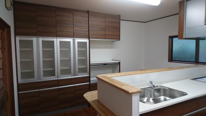 【多可町リフォーム】キッチンリフォーム工事施工後