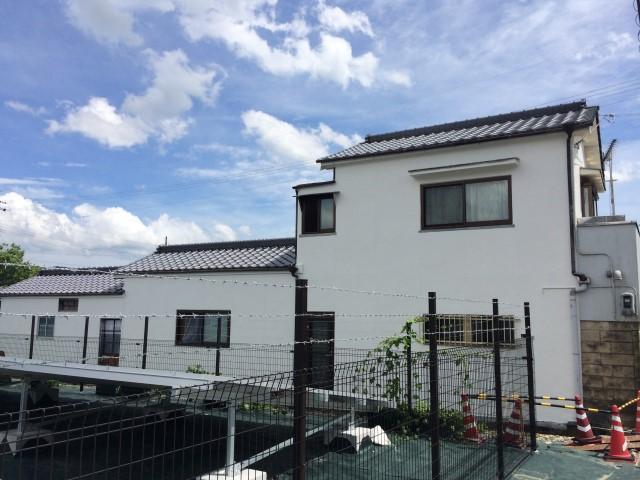 【西脇市リフォーム】外壁塗装施工後