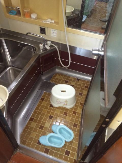 【加東市リフォーム】浴室リフォーム施工前