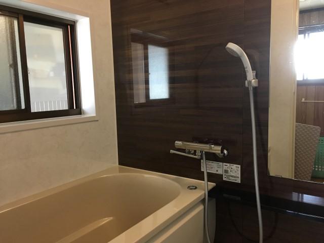 【加東市リフォーム】浴室リフォーム施工後