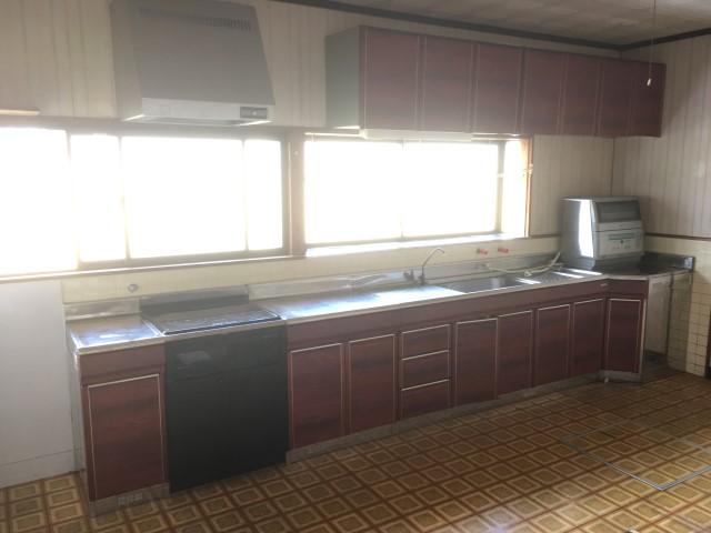 【加東市リフォーム】キッチン取替工事施工前