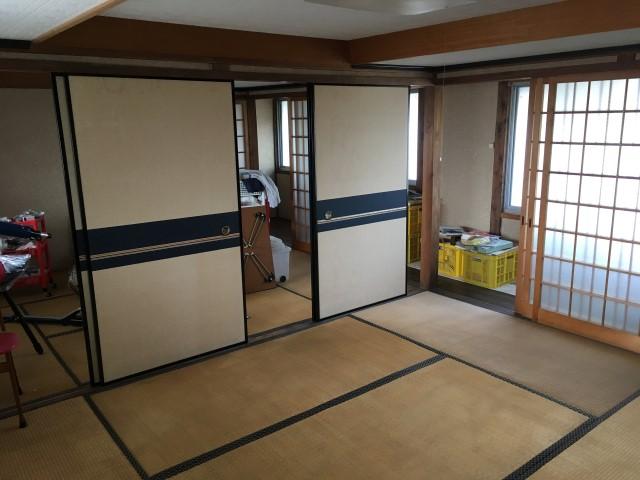 【多可町リフォーム】和室リフォーム施工前