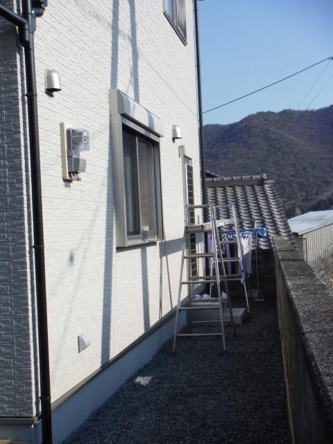 【西脇市リフォーム】物干しテラス設置施工前