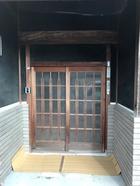【多可町リフォーム】玄関リフォーム工事施工前